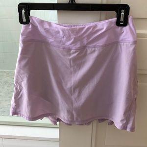 Lulu Lemon tennis skirt.